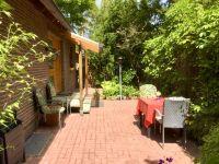 Der Sitzplatz für das Ap. Sparfuchs - Bild 1: Berlin XXL Apartment an der Badewiese Toplage *WLAN* Hunde
