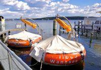 Hier können Sie auch mal ein Grillboot mieten! - Bild 22: Berlin XXL Apartment an der Badewiese Toplage *WLAN* Hunde